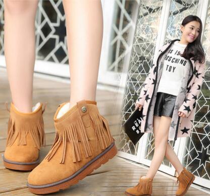 冬季雪地靴磨砂女鞋平底保暖棉鞋.jpg